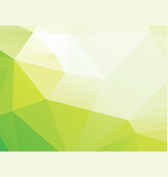 green geometric bio background vector image