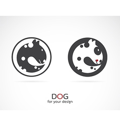 image of an dog design vector image