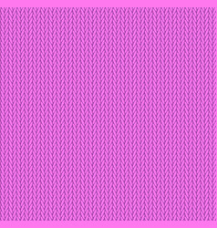 knit texture bright pink color seamless pattern vector image