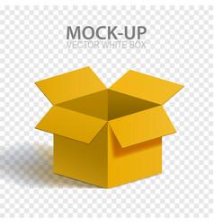 mock-up box vector image