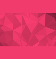 Ruby low poly background vector