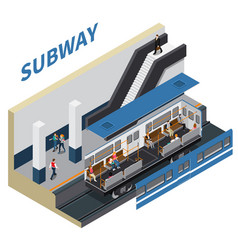 Subway isometric composition vector