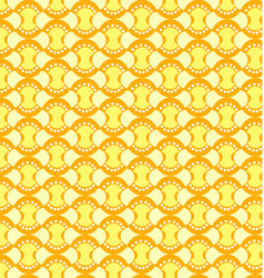 geometric patterns seamless yellow vector image vector image