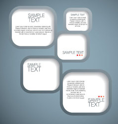 Banner speech bubble vector image