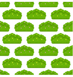 Bush seamless pattern vector