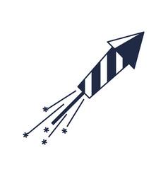 christmas slapstick isolated icon vector image