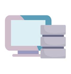 data security design vector image