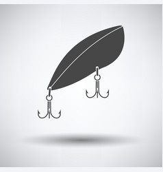 icon of fishing spoon vector image