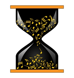 Time for music vector image
