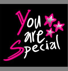 You are special symbol vector