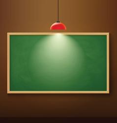 black board vector image
