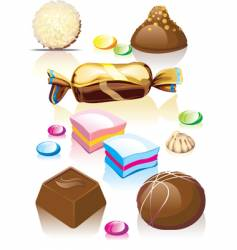 candy vector image vector image