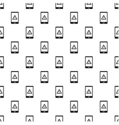 Not working phone pattern vector