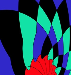 abstract figure vector image vector image