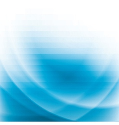 blue business background with stripes and waves vector image vector image