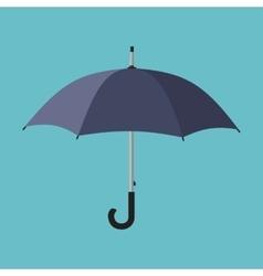 Black umbrella icon vector image vector image