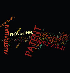 Australian patent office text background word vector