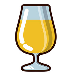 beer cup icon vector image