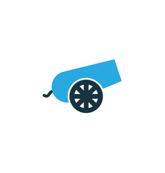 Bomb colorful icon symbol premium quality vector