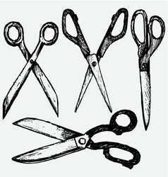Cutting scissors vector