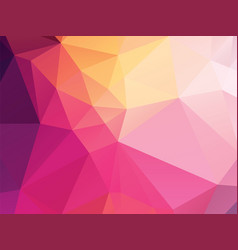 dark color geometric background vector image