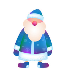 father frost russian santa claus ded moroz vector image