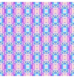 Geometric seamless blue pink rectangle pattern vector