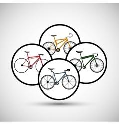 Graphic design of Bike lifestyle vector image