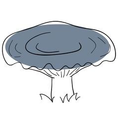 Milk mushroom vector image