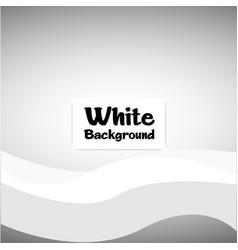 modern white wavy gray background image vector image