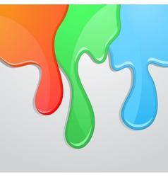 RGB background vector image