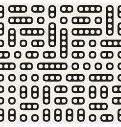 Seamless irregular rounded rectangle blocks vector