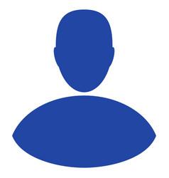 boy flat icon vector image