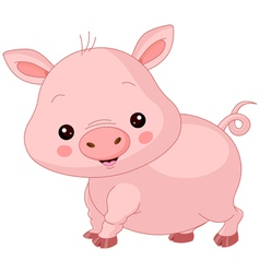 Farm animals pig vector