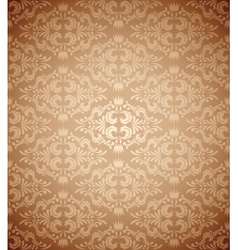 Abstract damask pattern vector