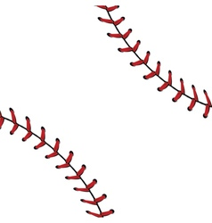 Baseball Lace Background2 vector image