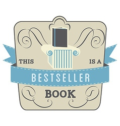 Bestseller Book vector