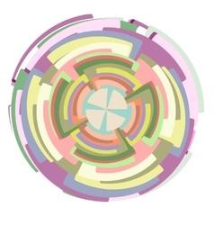 Circle set vector image