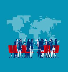 Economic trade war concept business finance vector