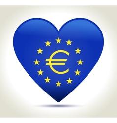 Euro money sign vector