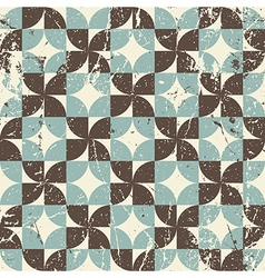 Geometric seamless pattern with diamonds and vector image