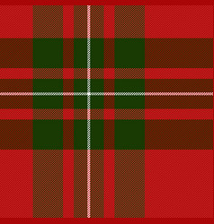 macgregor tartan scottish cage background vector image