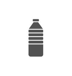 Water bottle icon on white background vector
