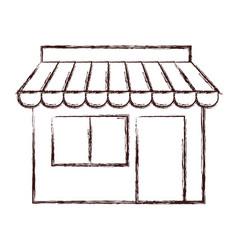 store building icon vector image