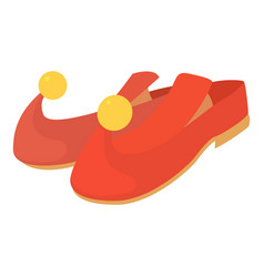 arabic shoes icon cartoon style vector image vector image