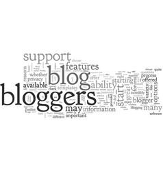 Bloggin with wordpress vector