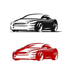 car logo abstract automotive concept vector image