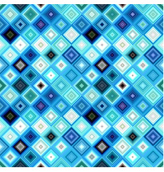 colorful abstract repeating diagonal square vector image