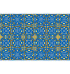 decorative ceramic seamless tiles vector image