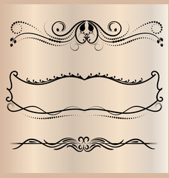 frames retro for coloring decorative round vector image